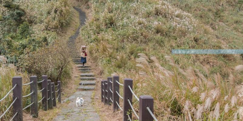 台北芒草季-陽明山七星山東峰步道/再一步,前面的風景或許更加深刻-台北景點推薦