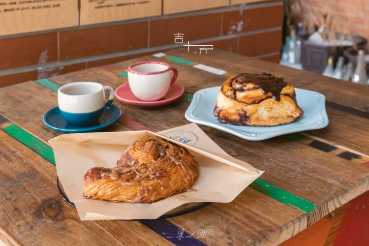吉十咖啡,將生活裡所有喜歡,細細揉進肉桂捲麵糰裡/新竹北區咖啡甜點推薦
