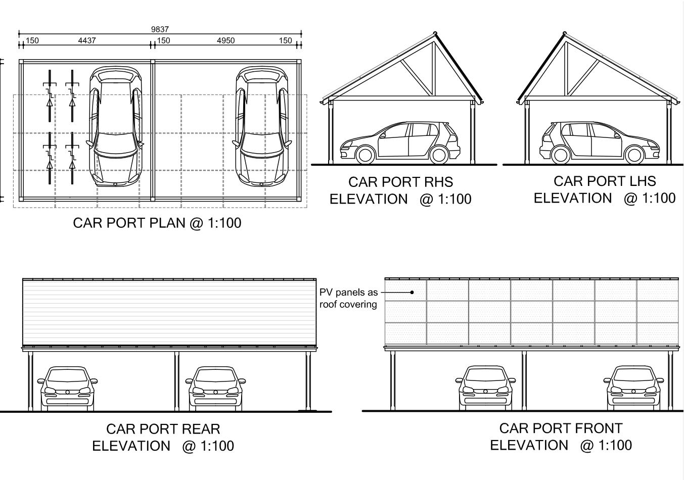 Woodwork Steel Carport Building Plans PDF Plans