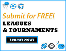 Submit your Leagues and Tournaments