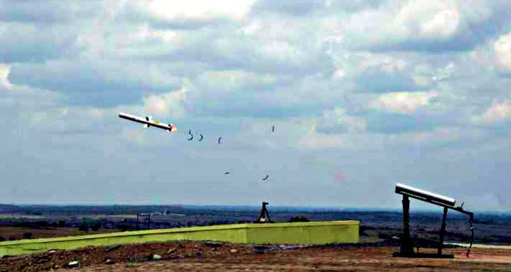 Indigenously Developed Man-Portable Anti-Tank Guided Missile Test-Fired Successfully | League of India