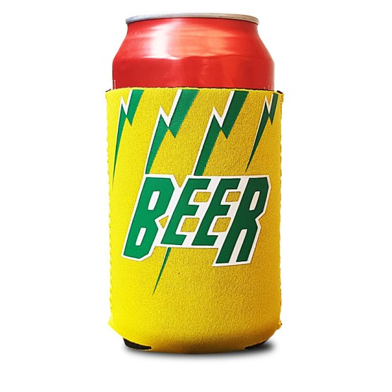 lightning bolt cricket shirt stubby holder