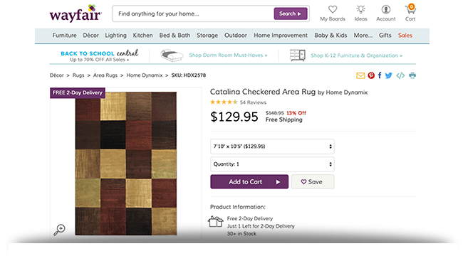 Catalina area rug Wayfair