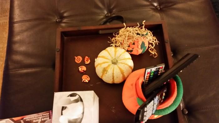 Halloween and fall harvest decor