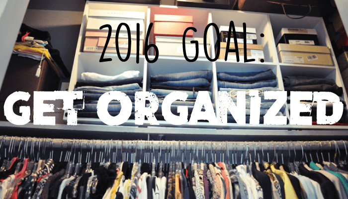 2106 new year's resolution goal get organized