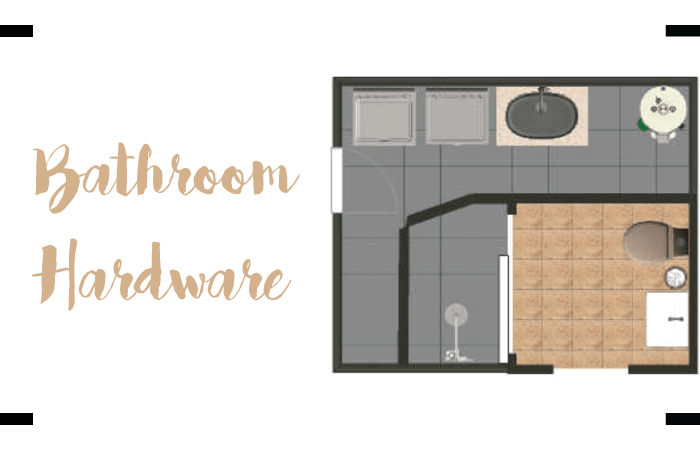 Bathroom Hardware Header