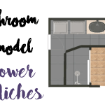 Bathroom Remodel: Knockdown and Niches