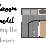 Bathroom Remodel: DIY Shower Tile Walls