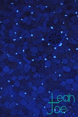 glow rocks floor