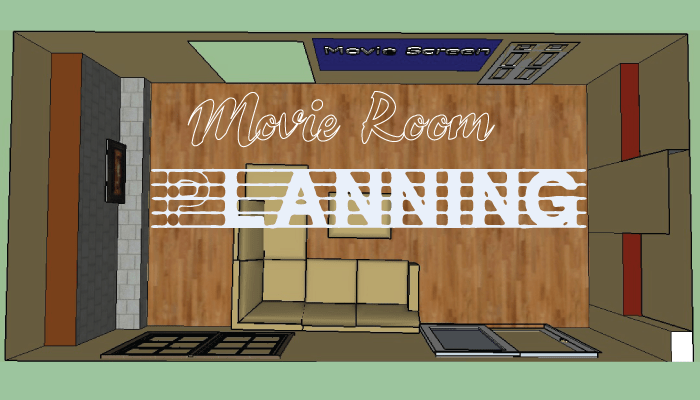 movie room planning header