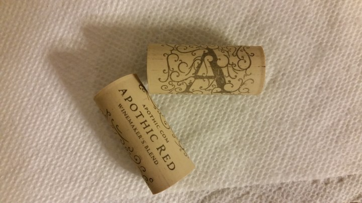 DIY cork wine charms
