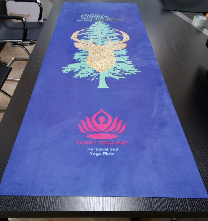 DIY yoga mat custom personalized