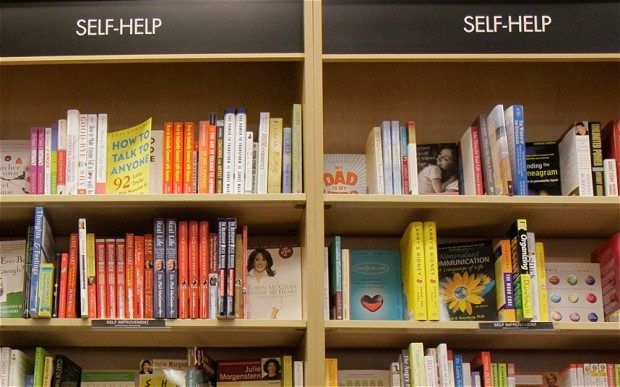 self help books are not psychotherapy - Leah Benson Therapy