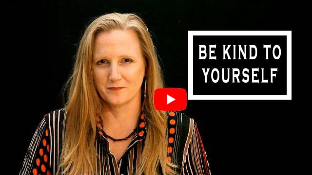 Be kind to your self. Leah Benson Therapy YouTube video