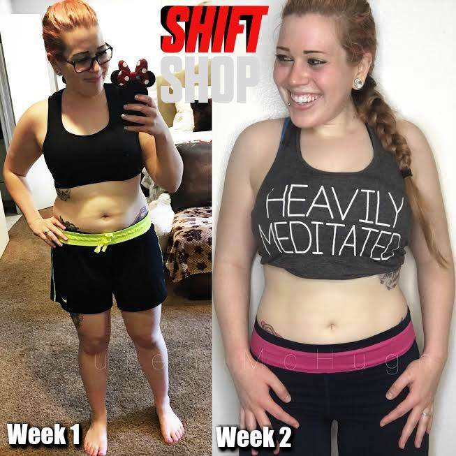 shift shop week 1 transformation