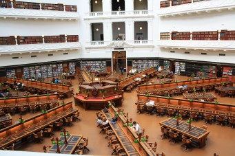 La Trobe Reading Room at the State Library of Victoria
