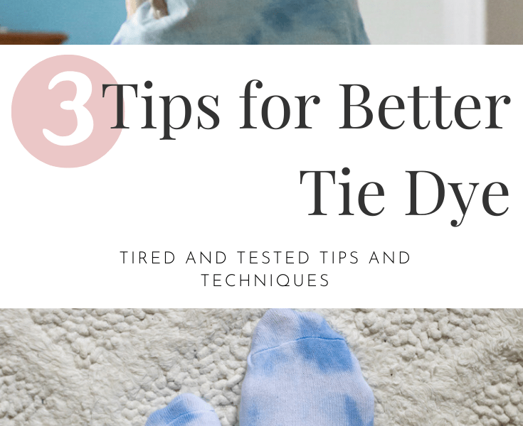 3 Tips for Better Tie Dye