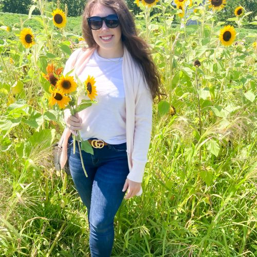 SOCIALLY DISTANT SUMMER FUN | PICK-YOUR-OWN SUNFLOWERS  OOTD