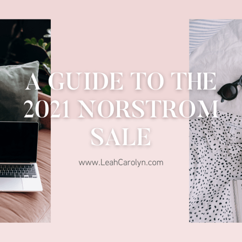 A guide to the 2021 Nordstrom Sale