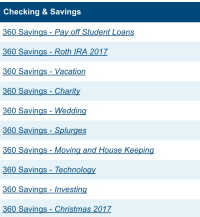 Why I don't have (or need!) a budget to save money? Because I use an automatic savings plan that puts my paychecks into these categories without me having to do anything! Click through to learn more, especially how this system is helping me paying back student loans..