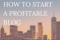 Ever wanted to start a blog that you love AND makes you money? There's nothing better for this perfect side hustle! Click through to learn how to start a blog of your own.