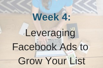Module 4 of Limitless List all about advanced Facebook Ads.
