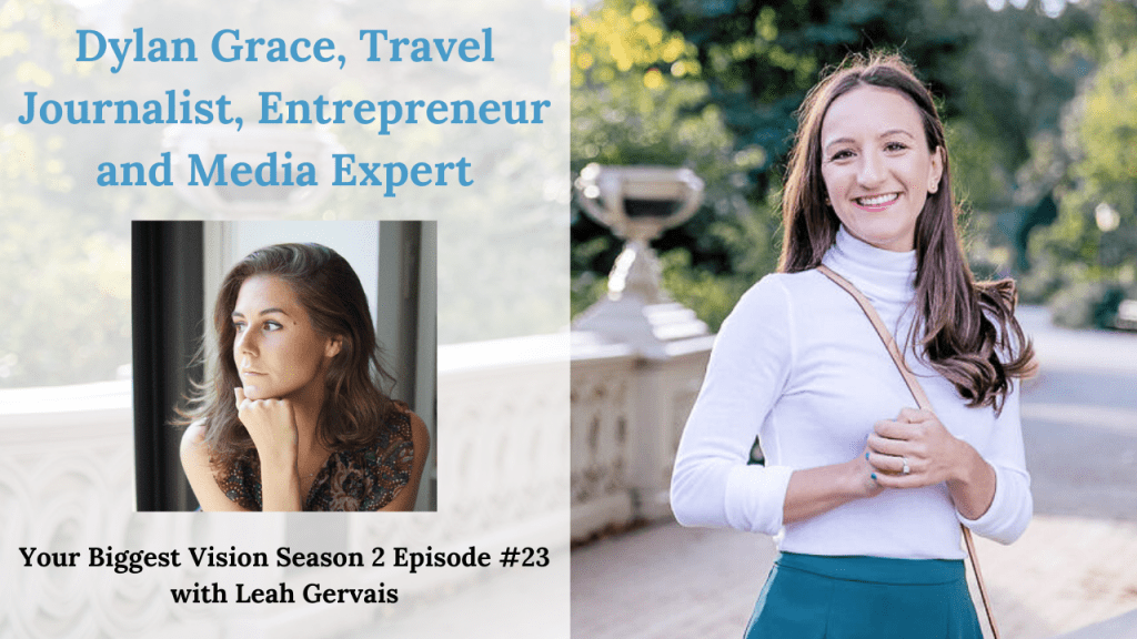 Do you dream of traveling for a living while working on your goals? Today's guest has advice for you! Dylan Grace is a travel journalist & entrepreneur.