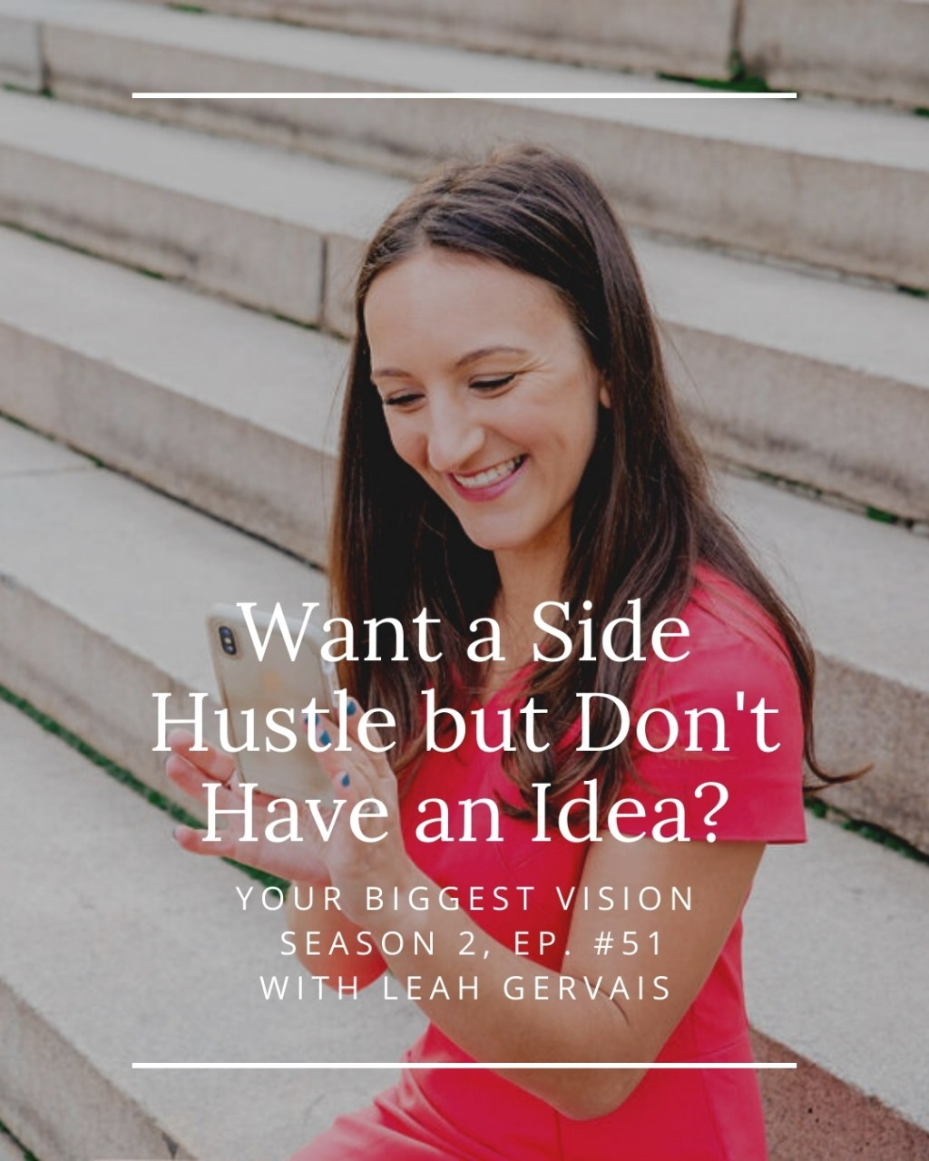 Want a side hustle but don't have an idea? Hear the three reasons why you are ready to start your side hustle even without the perfect idea.