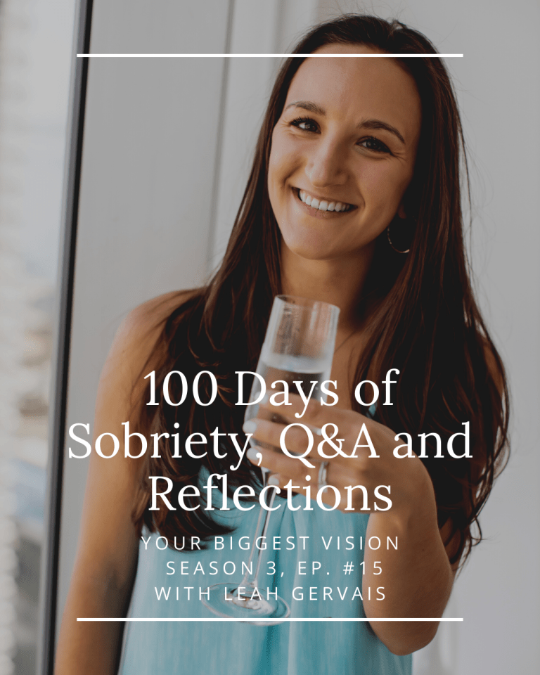 Tune in to hear the benefits, downsides and an honest look at what my life is like 100 days later after making this huge decision!