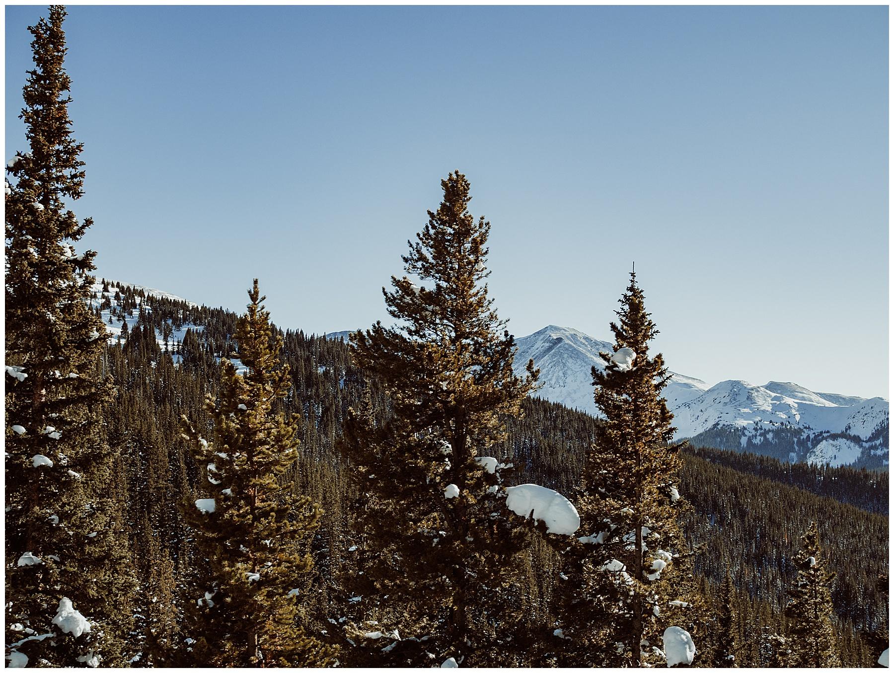 Mountain adventure photos in colorado