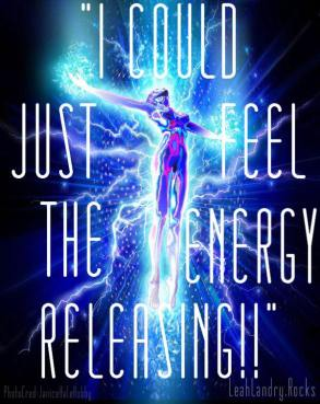 I just ran energy on myself and it was STRONG!!! So I can completely relate to this #leahlandryclienttestimony the energy you feel intensely coming in and intensely releasing the density from deep within your being is incredible! It's like a jolt. A lifting. I could feel tingling and pulsating all through every cell. I saw a glimpse of my #gold being too which brought me to tears. It's incredible to connected to yourself at your true source and all there is knowing you are one. 🙏🏽💜🙌🏽