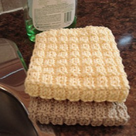 Boxy Dishcloth