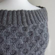Fashion Forward Cowl Edge Detail