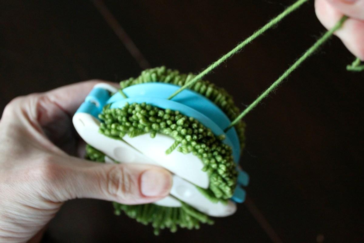 Pulling Yarn Tight
