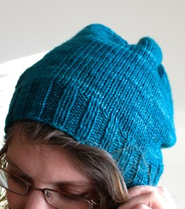 Slouchy Hat close-up