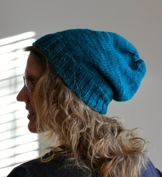 Slouchy Hat side