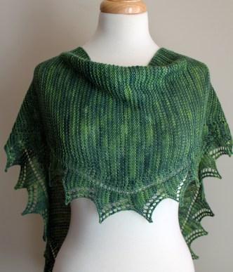 Simple Spring Shawl dressform