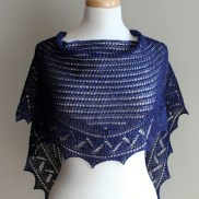 Summer Lace Shawl front
