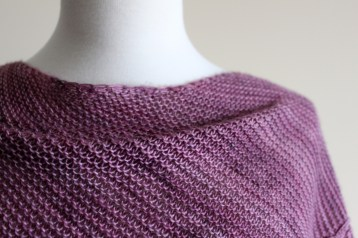 Eyelet Chain Shawl closeup