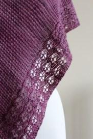 Eyelet Chain Shawl lace