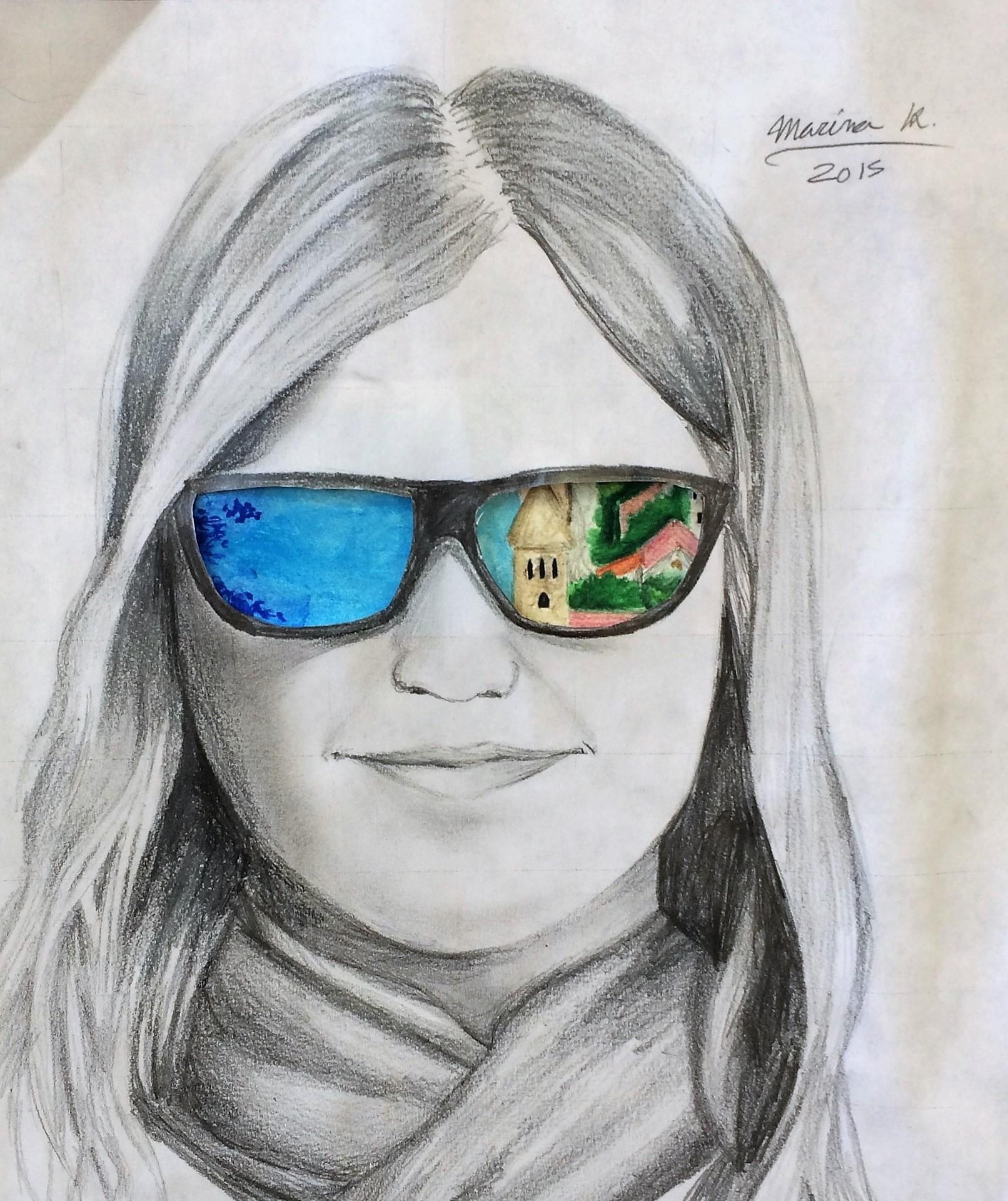 Sunglasses Value Art Lesson For Middle School Kids