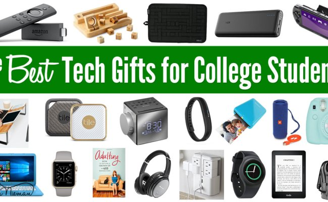Best Tech Gifts For College Students