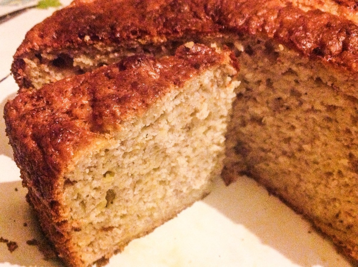 Banana Yoghurt Bread with no added fats