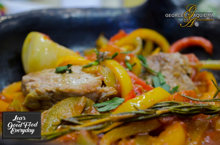 Pork Pepperonata Goodfoodeveryday by George Vassallo
