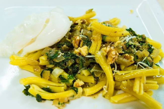 #Casarecche with Turnip Tops and Burrata Photo Ian Noel Pace