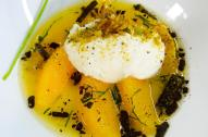 Oranges, sheeps ricotta and Modica chocolate