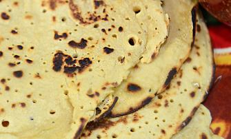 Socca or Farinata Flat breads made out of Chick pea flour #glutenfree