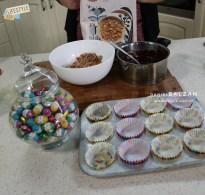 easter nests with chocolate cornflakes 3