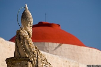 San Girgor statue in Zejtun credit photo Jorg Dauerer