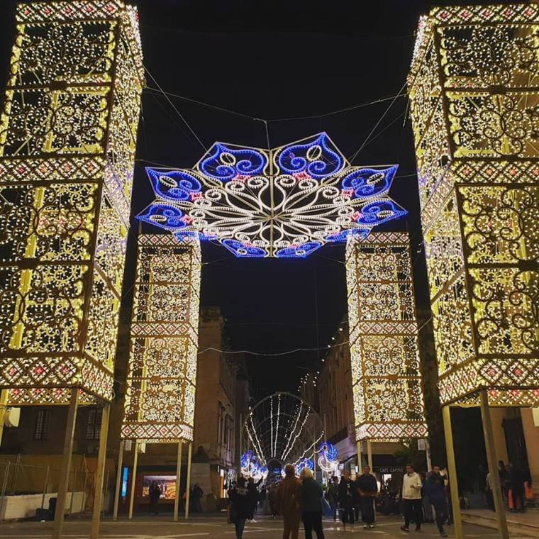 Valletta Christmas Lights 2018